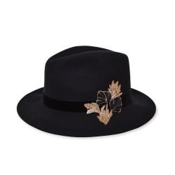 Chapeau Jack Black brodé T56