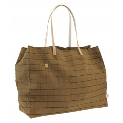 Sac de shopping Oscar - Tabac
