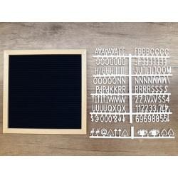 Letter board carré - night blue