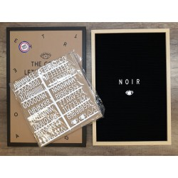 Letter board BIG - noir