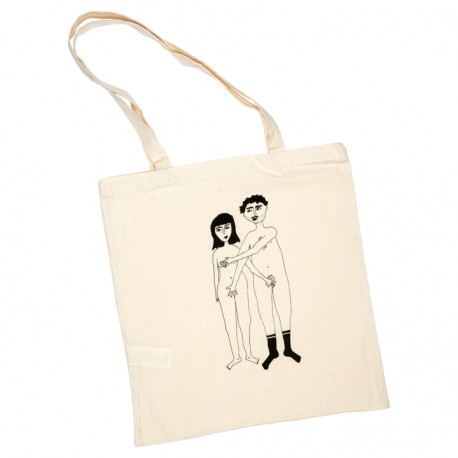Tote-bag Couple nu