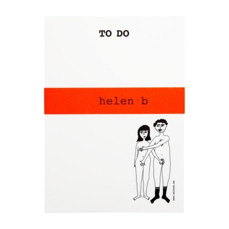 Bloc-notes Couple nu