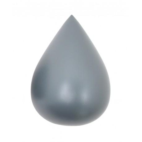 Patère Goutte Gris ciment
