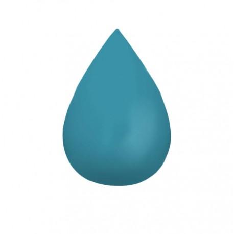 Patère Goutte Bleu pétrole