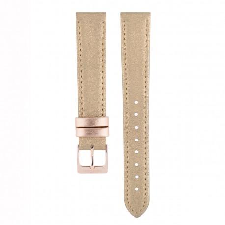 Bracelet pour Colette/retro or rosé/Lamé