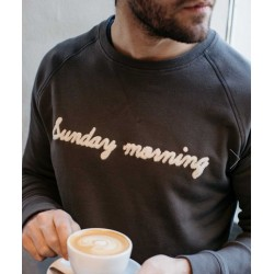 Sweat Sunday morning - Taille L