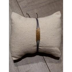 Bracelet Caroline plomb