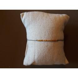 Bracelet Milan moutard