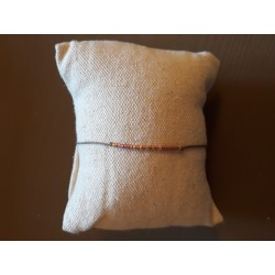 Bracelet Milan pink metal