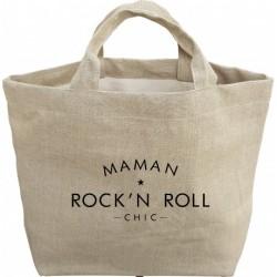 Mon ptit cabas en lin Maman Rock n roll chic