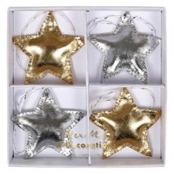 Décorations à suspendre - étoiles