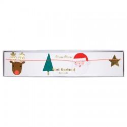 Guirlande motifs de Noël