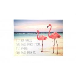 "Affiche ""Flamingo"""