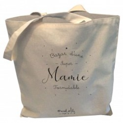 Tote-bag Bazar d'une mamie formidable