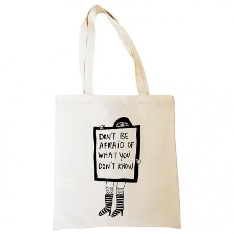 Tote-bag Yoko don't be afraid