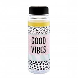 Bouteille à bouchon Good vibes