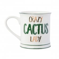 Mug Crazy cactus lady
