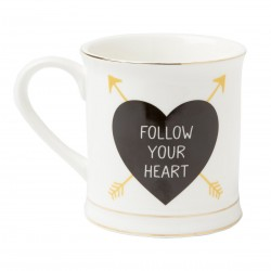 "Mug ""Follow your heart"""