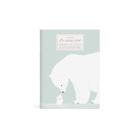Cahier éco Ours blanc et lapin