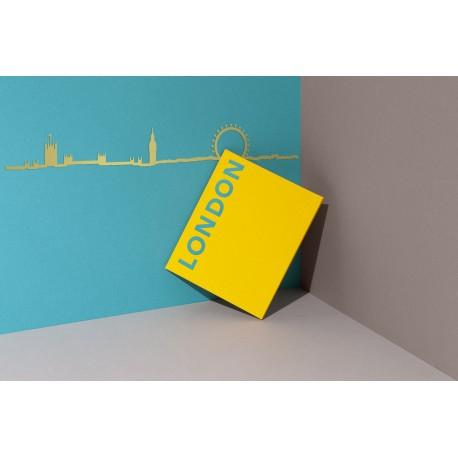 Silhouette de Londres - doré