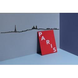 Silhouette de Paris - noir