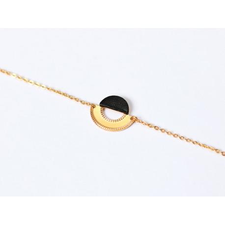 Bracelet Licht - Noir