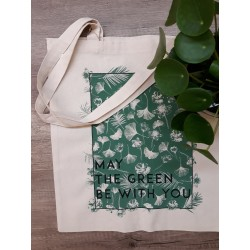 Tote-bag May the green be with You