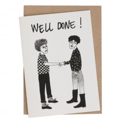 Carte double Well done