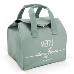Lunchbag isotherme vert