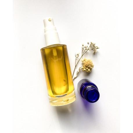 Soin visage aux huiles précieuses