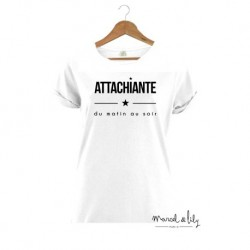 TSHIRT FEMME ATTACHIANTE L