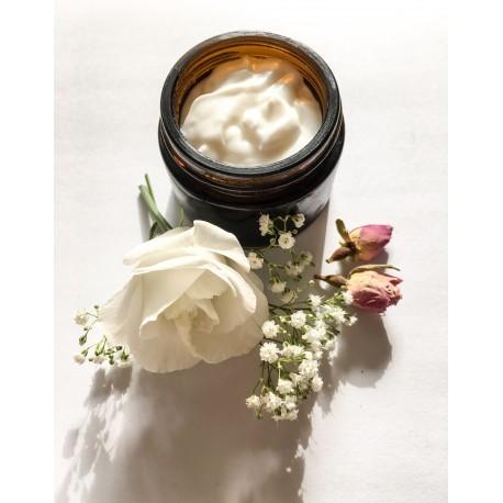 Crème de jour à la rose