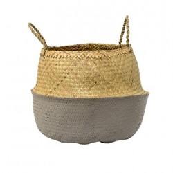 basket natural/cool grey 55x34