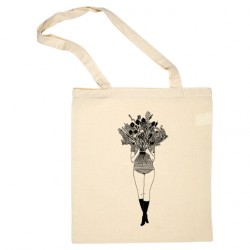 Tote-bag Flower girl