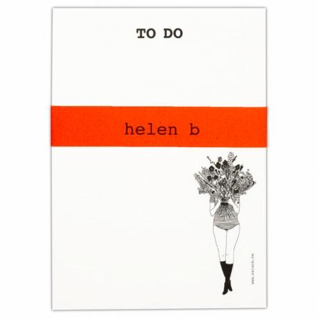 Bloc-notes Flower girl