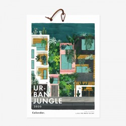 Calendrier 2020 Urban Jungle large