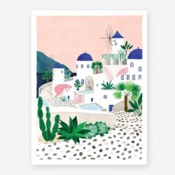 Affiche Small Santorini