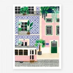 Affiche Small Lisboa