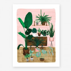 Affiche Large Living room