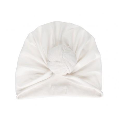 Turban beanie Whipped cream 3/6 mois