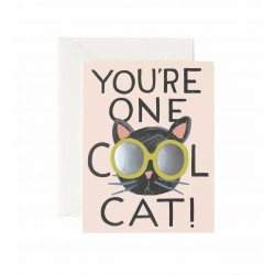 Carte double cool cat
