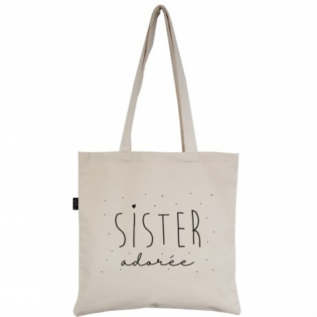 Tote-bag Sister adorée