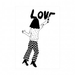 Carte Tag Love