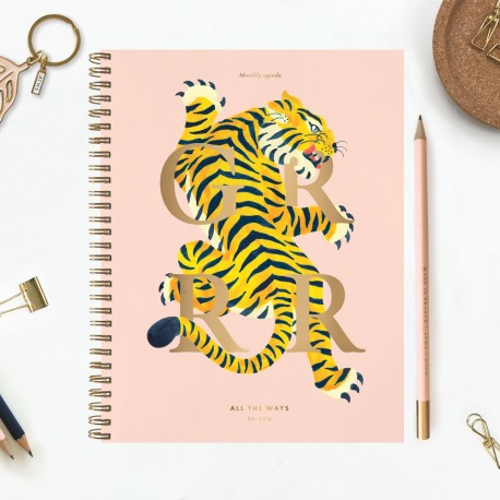 Monthly agenda - Tiger