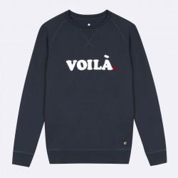 Sweat Voila marine - Taille XL