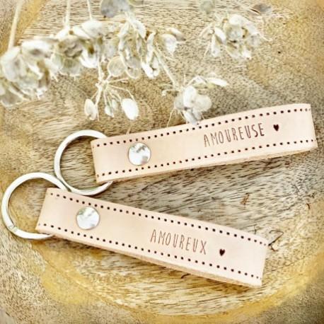 Duo de porte-clés Amoureux/Amoureuse