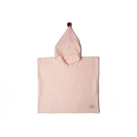 Poncho de bain so cute - rose