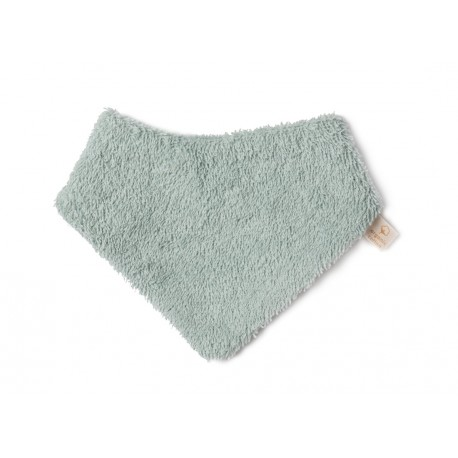 Bavoir bandana so cute aqua