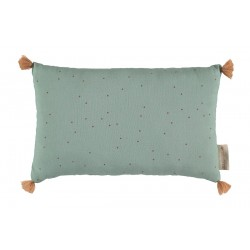 Coussin rectangulaire - Toffee sweet dots eden green