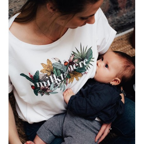 T-shirt d'allaitement Milktamère Taille L
